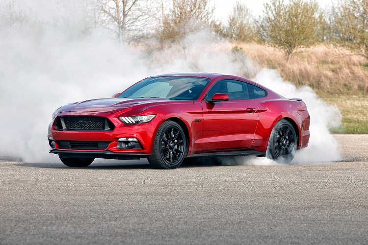 2018 Ford Mustang Mach 1 front view