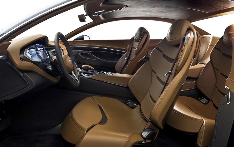 2017 Cadillac LTS interior