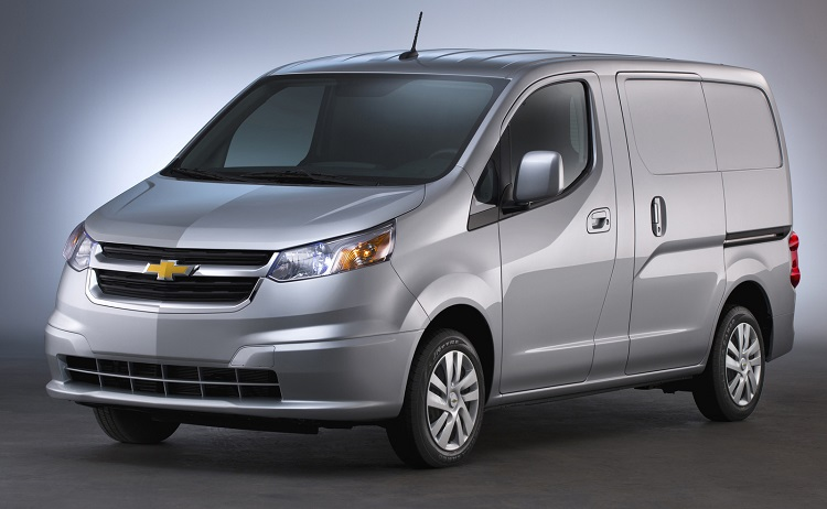 2017 Chevrolet City Express front view