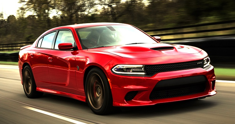 2017 Dodge Charger front view