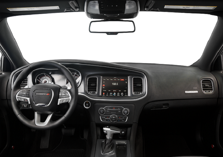 2017 Dodge Charger interior