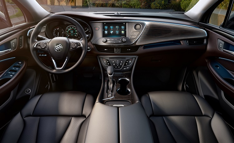 2018 Buick Envision interior