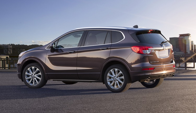 2018 Buick Envision rear view