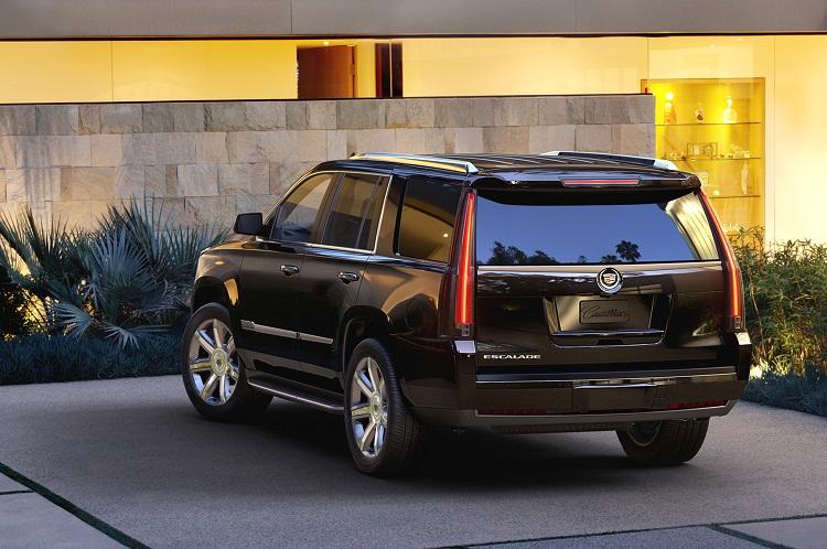 2018 Cadillac Escalade rear view