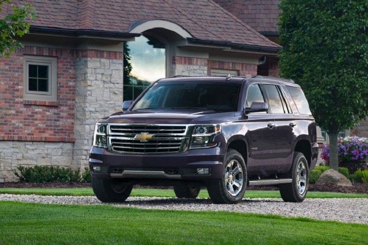 2018 Chevrolet Tahoe front view