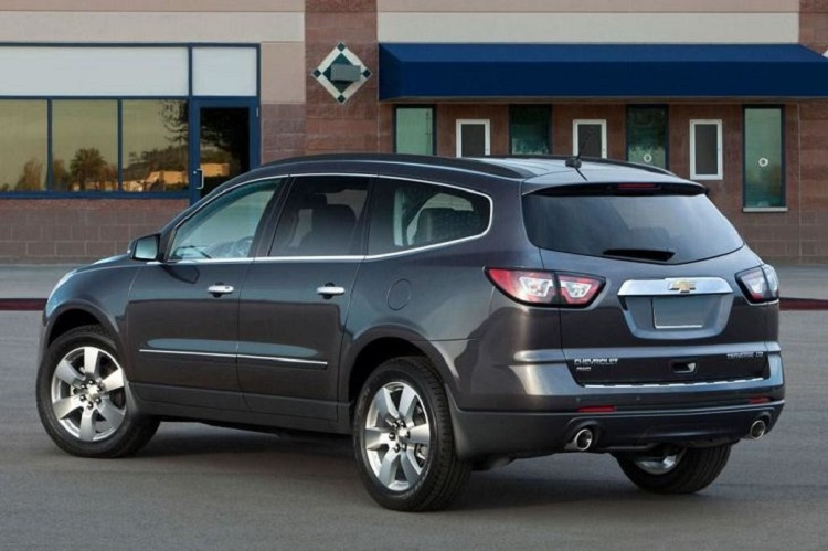 2018 Chevrolet Traverse rear view