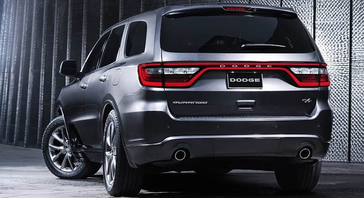 2018 Dodge Durango rear view