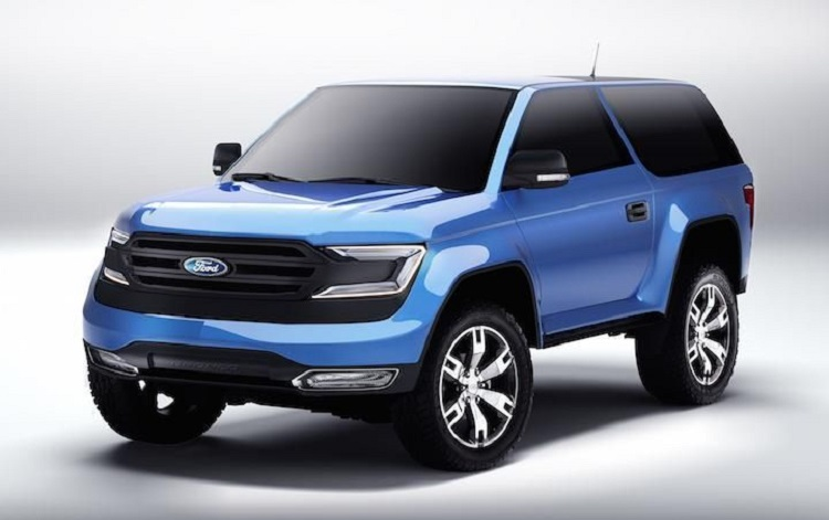 2018 Ford Bronco front view