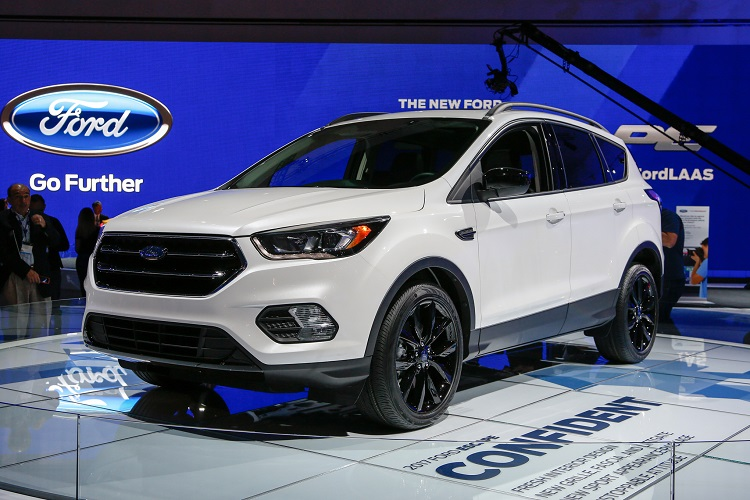 2018 Ford Escape front view