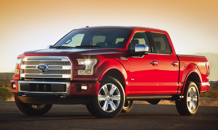2018 Ford F-150 front view