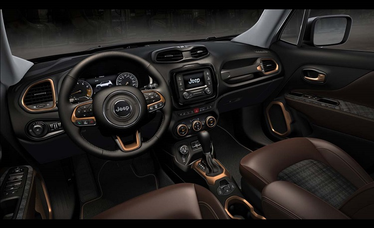2018 Jeep Renegade interior