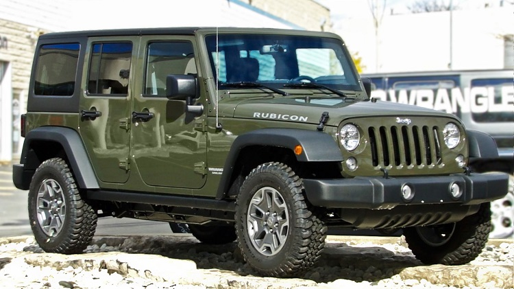 2018 Jeep Wrangler front view