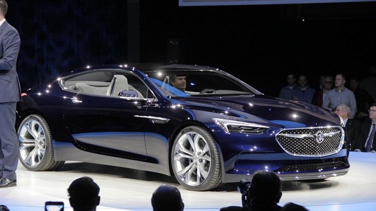 Buick Avista Concept front view