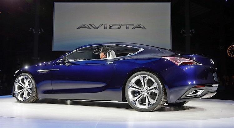 Buick Avista Concept rear view