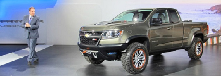 Chevrolet Colorado ZR2 Concept main