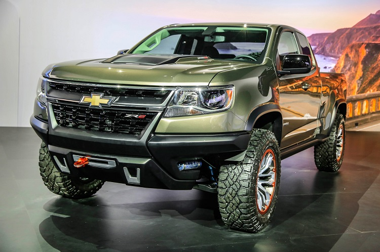 chevrolet colorado zr2 concept truck price first look. Black Bedroom Furniture Sets. Home Design Ideas