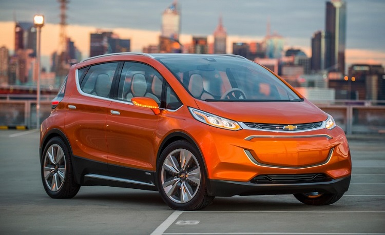 2018 Chevrolet Bolt front view