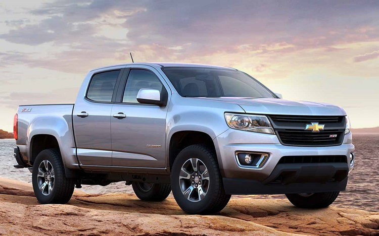 2018 Chevrolet Colorado front view