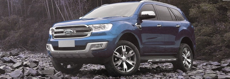 2018 Ford Everest