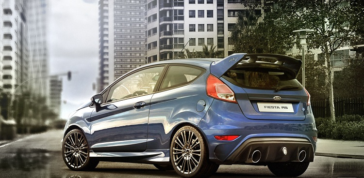 2018 Ford Fiesta RS rear view