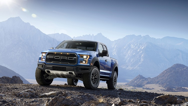 2018 Ford Raptor front view