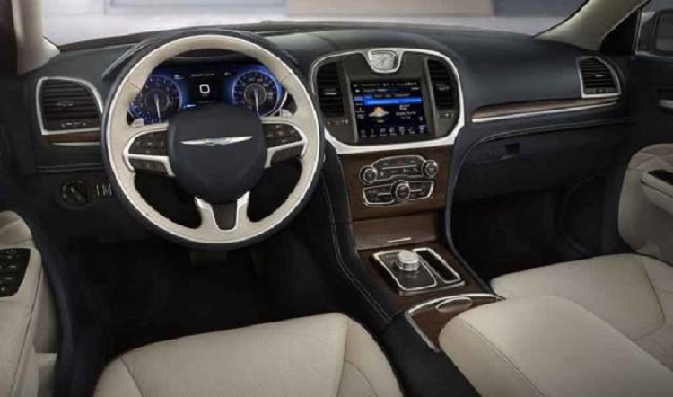 2017 Chrysler Aspen interior