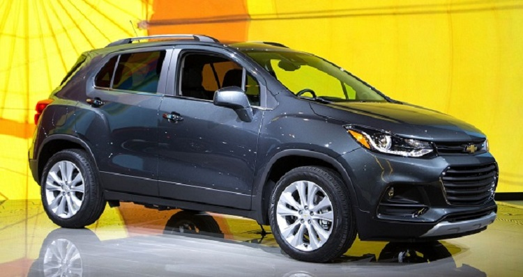 2018 Chevrolet Trax side view
