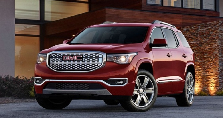 2018 GMC Acadia front view