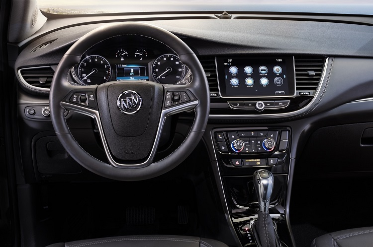 2018 Buick Encore interior