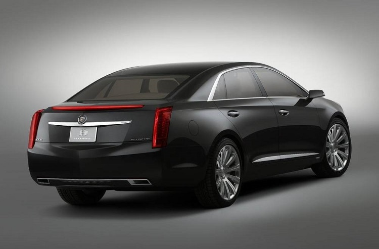 2018 Cadillac XTS rear view