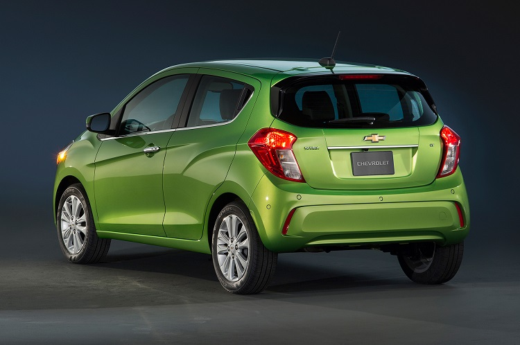 2018 Chevrolet Spark rear view