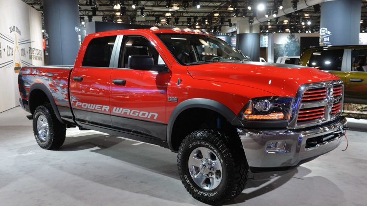 2018 Dodge Power Wagon front view
