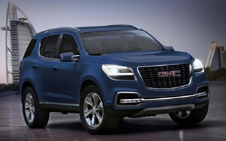 2018 Gmc Envoy Rumors Redesign Engine Release Date Price
