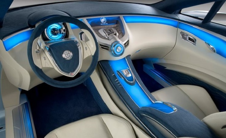 2018 Buick Riviera interior