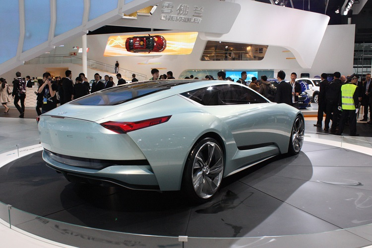 2018 Buick Riviera rear view
