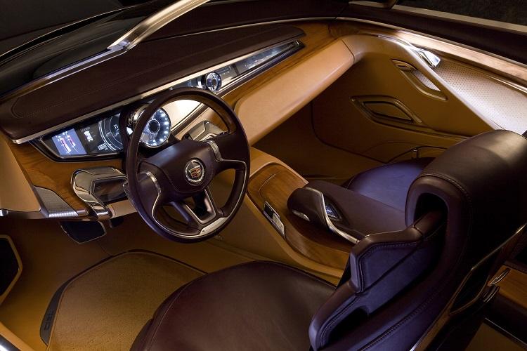 2018 Cadillac Eldorado interior