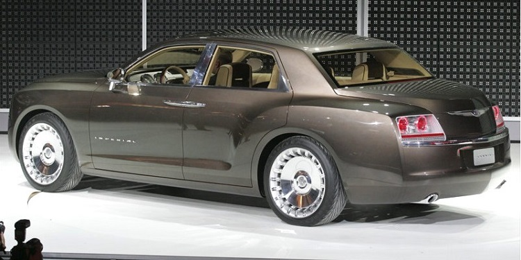 2018 Chrysler Imperial rear view