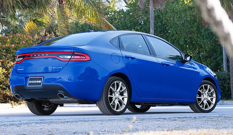 2018 Dodge Dart rear view