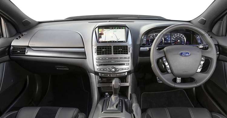 2018 Ford Falcon interior