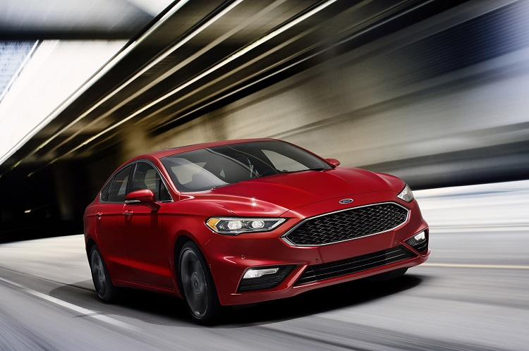 2018 Ford Fusion front view