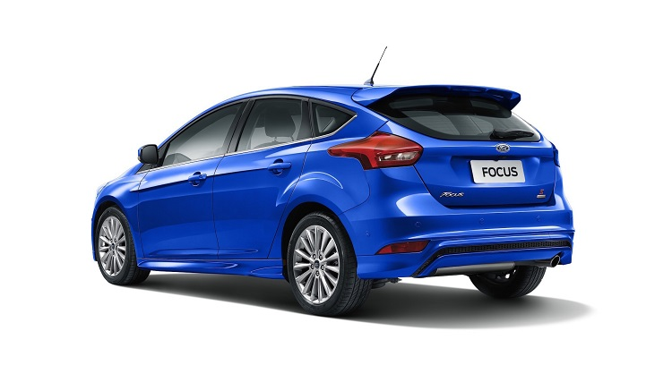 2019 Ford Focus rear end