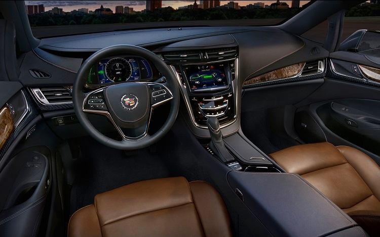 2018 Cadillac ELR interior