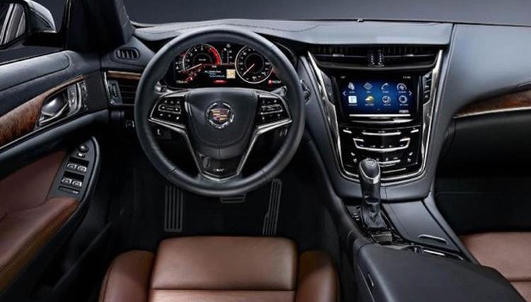 2018 Cadillac CT2 cabin