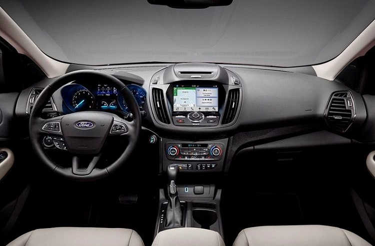 2018 Ford Focus ST cabin