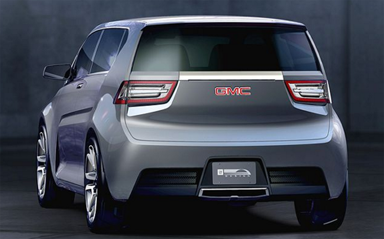 2018 GMC Granite rear
