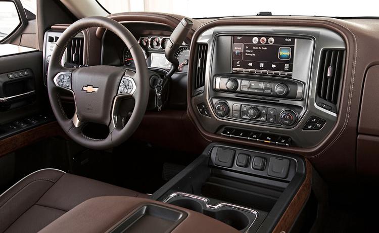 2018 Chevrolet Silverado 1500 control panel
