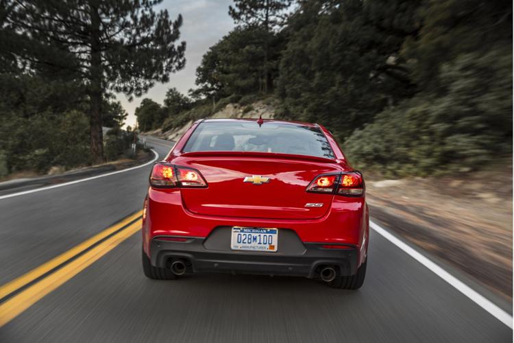 2018 Chevrolet SS rear