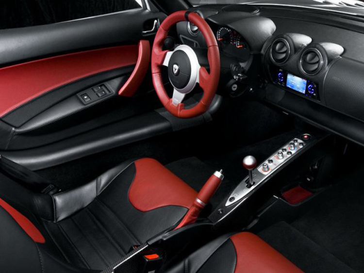 2018 Tesla Roadster interior