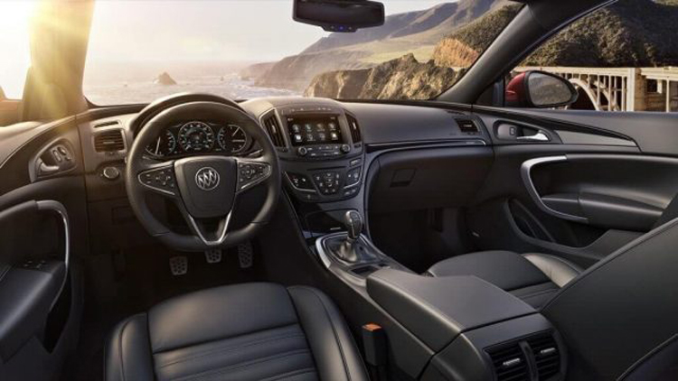 2018 Buick Grand National interior