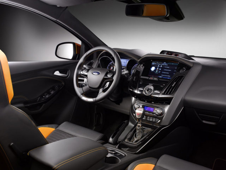 2018 Ford Escort interior